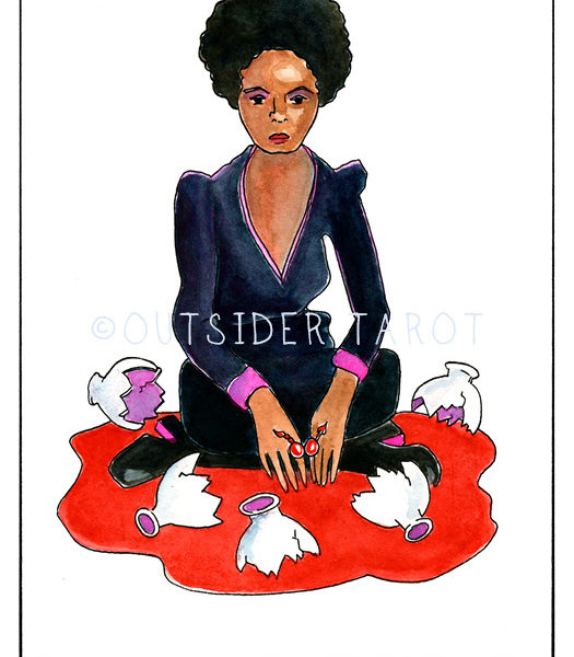 The Outsider Tarot by Bobby Abate (c) 2020