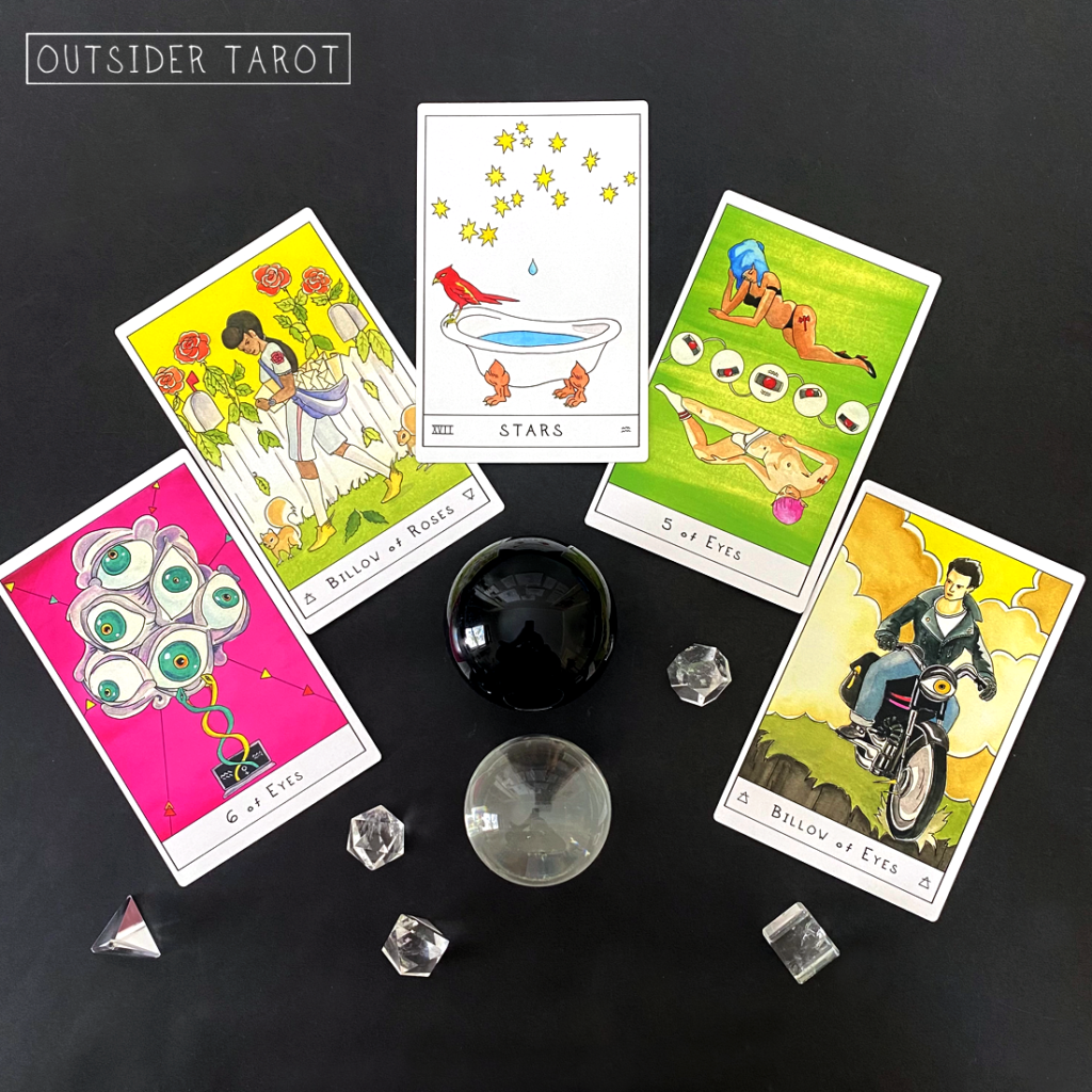 Readings with the Outsider Tarot by Bobby Abate